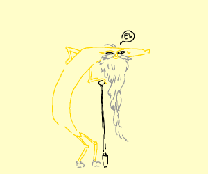 old bannana dude