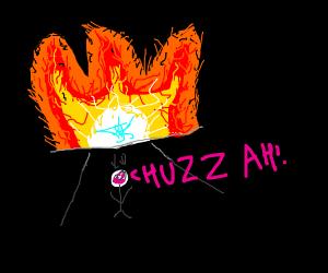 Guy that got through fire says huzzah