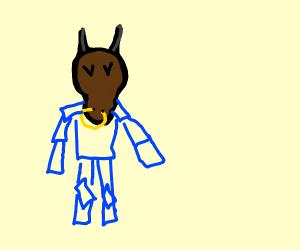 Minotaur wearing some cool armor