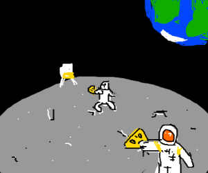 Going to the Moon to get Cheese