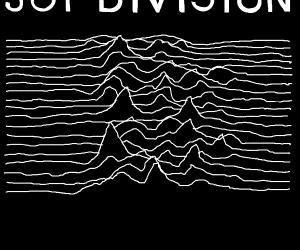 Joy Division: Unknown Pleasures Album Cover