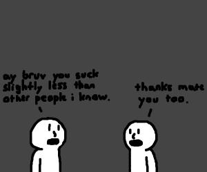 Friendship in a nutshell