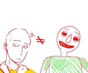 Not every Bald person is Baldi