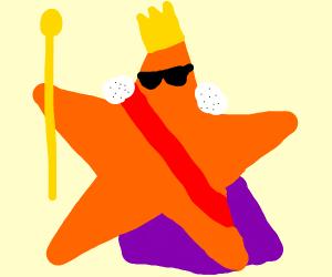 cool starfish royalty