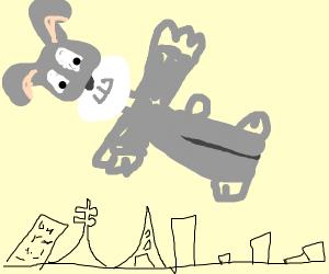 Bugs Bunny Flying