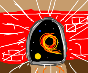 portal to space