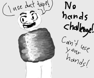 no hands challenge