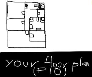 Your floor plan pio