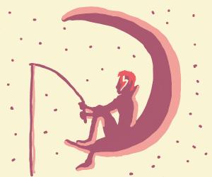 Dreamworks Logo But It's David Bowie