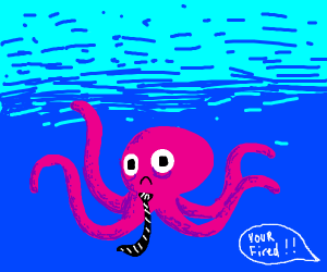 Octopus gets fried
