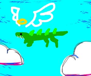 crocodile boi fly like an angel