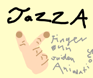 Jazza's fingergun JaidenAnimations
