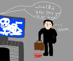 murder suitcase