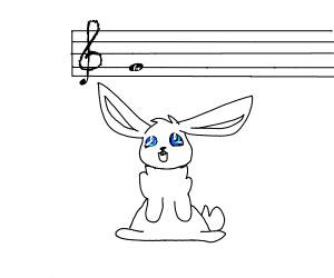 """rabbit produces a """"g"""" note"""