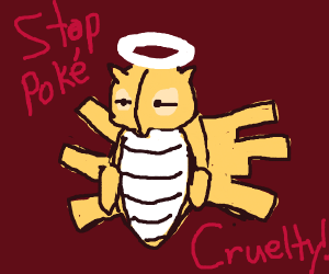 peta's take on Pokemon