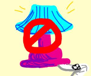 no lamp