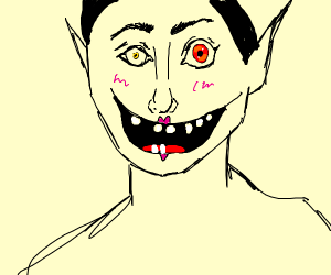A scary guy