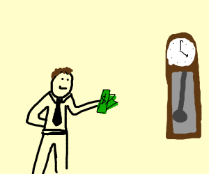 Governor buying a Clock