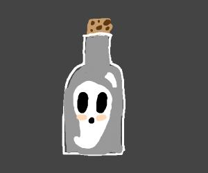 A ghost in a bottle