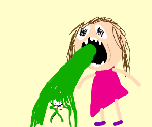 Girl Vomits on Guy Dabbing