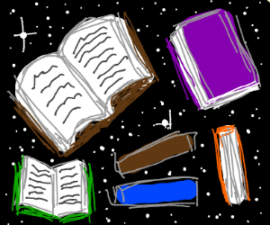 Books in space