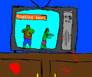 Breaking News: The Zombie Apocalypse is here!