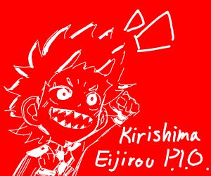 Kirishima Eijirou P.I.O.