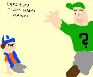 """Draw Soos! Dipper: """"Long Time No See Buddy!"""""""