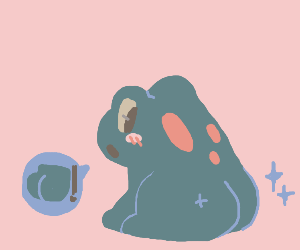 Frog With A Butt