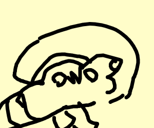 HoodRat turtle with OwO face