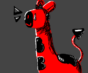 Giraffe demon