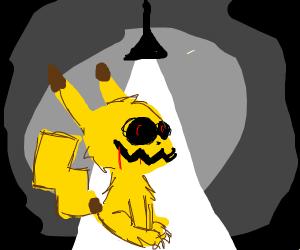 creepy pikachute