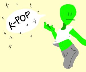 Aliens discuss K-Pop