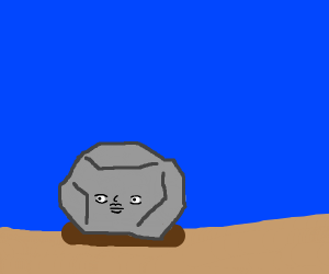 Rock that looks like a face