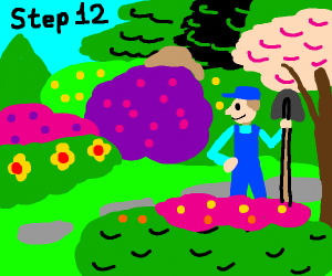 Step 11: Replace your gardening tools