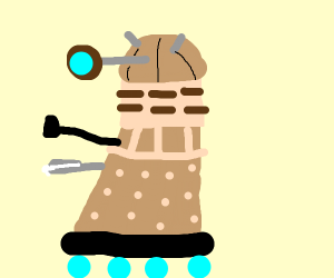 Dalek about to head out