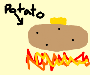 Steamed Potato
