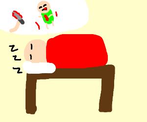 Dreaming of murdering people
