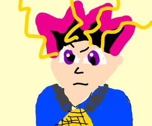 Anime character (male and looks like Yu-gi-yo