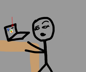 my pc is retarded an meh can't see drawing :D