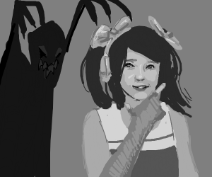 shadow demon haunting hit or miss girl