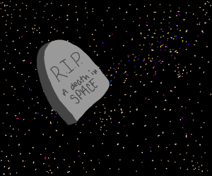 RIP death in space