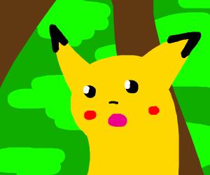surprised pikachu meme - Drawception