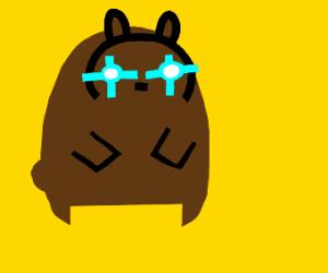 Laser powered bear