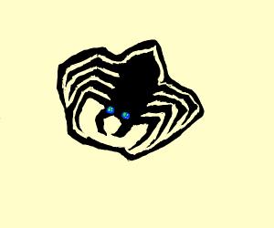 Ninja spider with Earth eyes