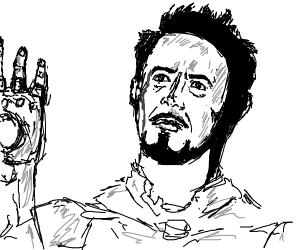 Iron man dies D: