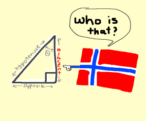norway asking who is adjacent