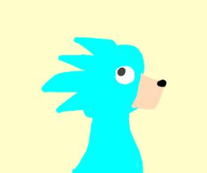 Off brand Sonic the Hedgehog