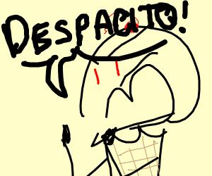 ice cream sings despacito (why)