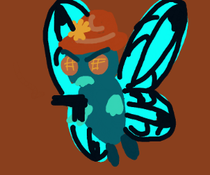 Butterfree, fastest gun in the west